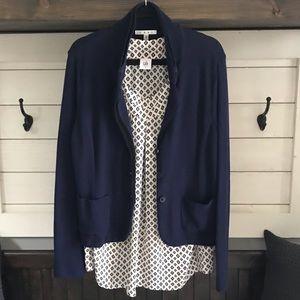 Gorgeous CAbi Sweater/Blazer & Top Sz: L